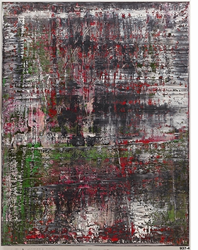 """""""Birkenau"""" (2014) is reproduced from <I>Gerhard Richter: Panorama</I>."""