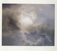 Gerhard Richter Poster Number 4: Cloud Study, 1970