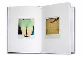 Above: A spread from 'Guy Bourdin: Polaroids.'