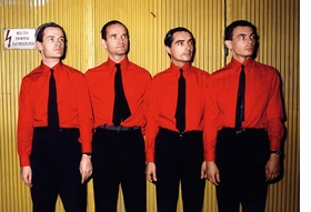 "Featured image, ""Kraftwerk,"" from <I>Rockstars</I> (1981/2012), is reproduced from <I>Hannes Schmid: Real Stories.</I>"