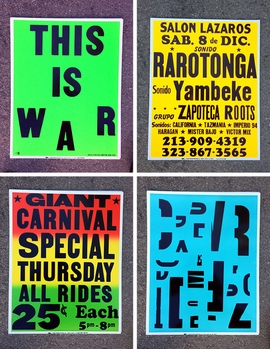 Featured posters are reproduced from <I>In the Good Name of the Company: Artworks and ephemera produced by or in tandem with the Colby Printing Company</I>.