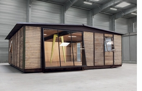 Featured image is reproduced from <I>Jean Prouv�: Maison D�montable 8x8 Demountable House</I>.