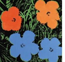 Jeff Koons & Andy Warhol: Flowers