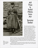 Jeremy Deller: All That Is Solid Melts into Air