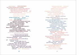 Featured image is a spread reproduced from <i>John Cage: Diary</i>.