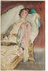 "John Singer Sargent portrait ""Alice Runnells James"" (1921)"