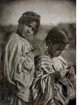 "Featured image, captioned ""North Africa, Two Girls, c. 1910,"" is reproduced from <I>Jos� Ortiz Echag�e: North of Africa</I>."