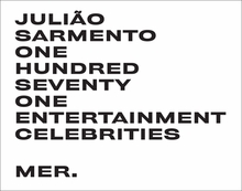Juli�o Sarmento: One Hundred Seventy One Entertainment Celebrities