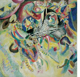 Featured image is reproduced from 'Kandinsky, Marc, and Der Blaue Reiter.'