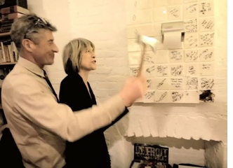 Kre�mart Presents Video of Linda Yablonsky's Birthday, Hosted by Maurizio Cattelan and Toilet Paper Magazine