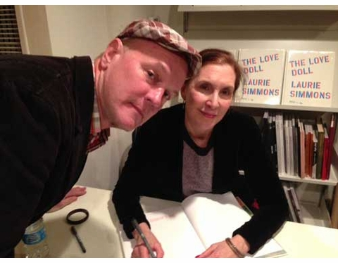 Laurie Simmons Launches 'The Love Doll' at Dashwood Books