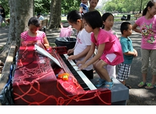 Lekha Singh: Pop-Up Pianos