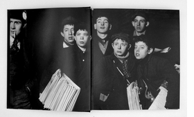 Featured spread is reproduced from <I>Lewis Hine</I>.