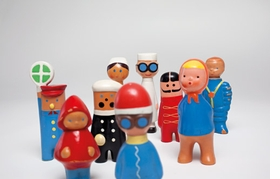 Featured image, of some of Libuse Niklová's plastic playthings (1954-1964), is reproduced from <I>Libuse Niklová</I>.