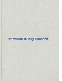 Louise Bourgeois & Gary Indiana: To Whom It May Concern