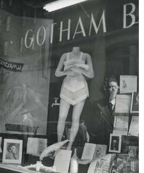 Featured image, Marcel Duchamp's window display for Gotham Book Mart, 1945, is reproduced from <I>Marcel Duchamp at the Age of 85</I>.