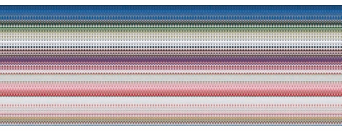 Method & Math in 'Gerhard Richter: Patterns'