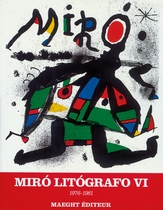 Mir� Lithographs: Vol. VI