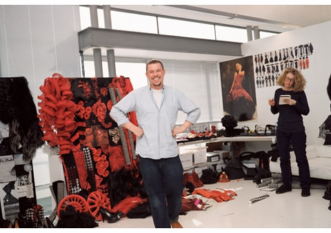 Nick Waplington to Sign 'Alexander McQueen: Working Process' at Arcana