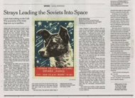 NY Times: �Soviet Space Dogs� Tells the Story of Canine Cosmonauts