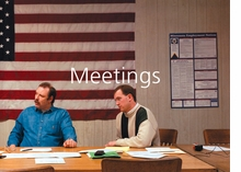 Paul Shambroom: Meetings