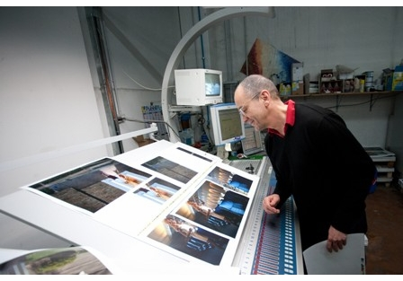 Philip-Lorca diCorcia on press with Eleven