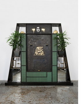 "Featured image, Rashid Johnson's 2008 sculpture, ""Souls of Black Folk,"" is reproduced from <I>Message to Our Folks</I>."