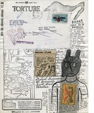 """Ray Johnson Collage (""""torture"""") from Siglio"""