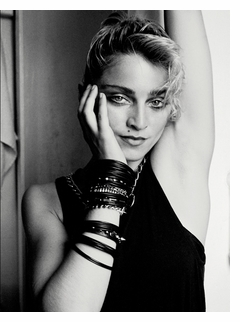 Richard Corman: Madonna NYC 83