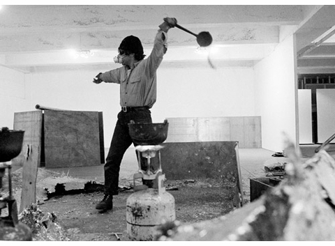 'Richard Serra: Early Work' Launch Events at The Strand and NYPL