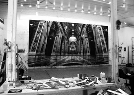 Featured image, of Robert Longo's studio, is reproduced from <I>God Machines</I>.