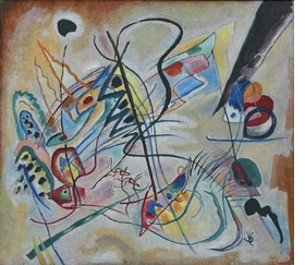 Featured image, by Vasily Kandinsky, is reproduced from <I>Russian Avant-Garde</I>.