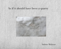 Sabine Mirlesse: As If It Should Have Been a Quarry