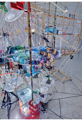 Sarah Sze Book Launch at 192 Books, New York