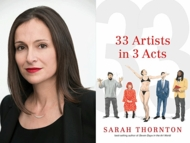 Saturday: Sarah Thornton Signing at Frieze New York