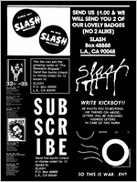 Slash: A History of the Legendary LA Punk Magazine