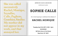 Sophie Calle Signing at 192 Books