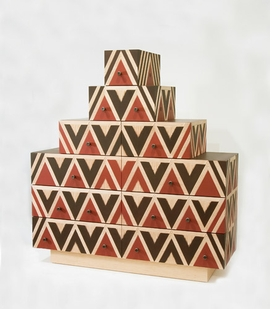 "Featured image, Judy Kensley McKie's ""Pyramid Chest"" (2010) is reproduced from <I>Speaking of Furniture</I>."