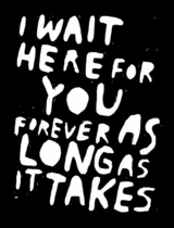 Stefan Marx: I Wait Here For You Forever as Long as It Takes