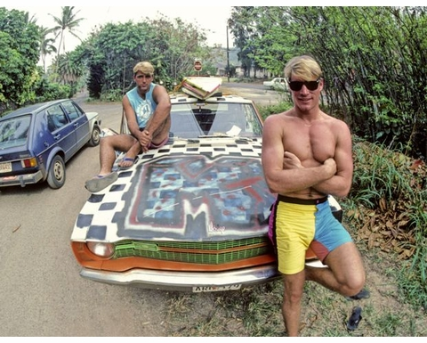 Surfing Photographs from the 80s