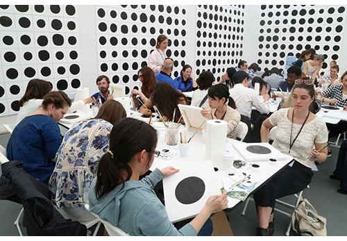 Don't Miss Jonathan Horowitz' 160 Dots Project at Swiss Institute!