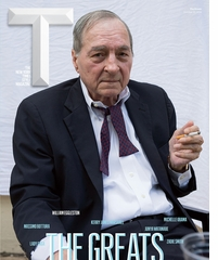 'The Greats' — William Eggleston on the Cover of T Magazine