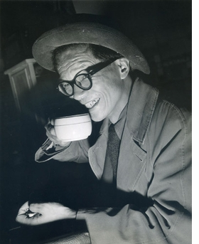 Poet, playwright, and novelist. <b>Hsi Tseng Tsiang (H.T. Tsiang)</b> was born in China in 1899 and came to America as a child. He was involved with the Greenwich Village literary scene in the 1920s and 1930s, and self-published a number of books which he would hawk at downtown political meetings. Tsiang also appeared as an actor in Hollywood, most notably in the film <I>Tokyo Rose</I>. He died in 1971 in Los Angeles, CA.
