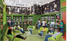 """Featured image of the Robin Hood L!brary Initiative at P.S. 47 in the Bronx is reproduced from <a href=""""9781935202189.html"""">The Power of Pro Bono</a>."""