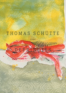 Thomas Sch�tte: Deprinotes 2006-2008