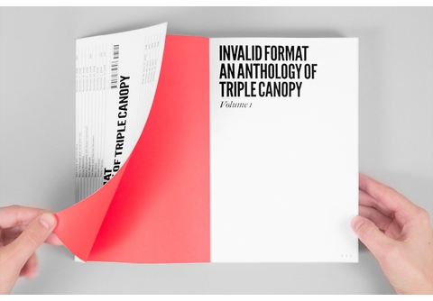 Triple Canopy�s Invalid Format launches in New York City; Reviewed in The New York Times