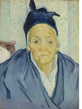 """""""An Old Woman of Arles"""" (1888) is reproduced from <I>Van Gogh in Provence</I>."""