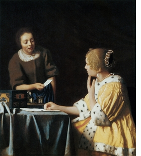 Featured image is reproduced from <I>Vermeer: The Complete Works</I>.