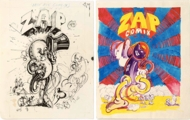 Victor Moscoso: Psychedelic Drawings Reviewed in NY Times