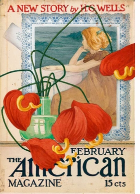 Featured image, a cover design for <I>The American Magazine</I> (1911), is reproduced from <I>Vojtech Preissig</I>.